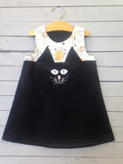 Black Cat Shift Dress
