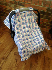 Plaid Car Seat Cover