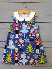 Nutcracker Shift Dress
