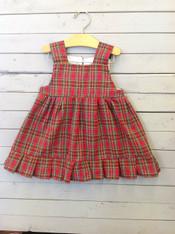Red Plaid Kelly Dress