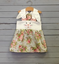 Bunny Face Jumper Dress