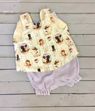 Peter Pan Top and Bloomers
