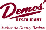$20 Gift Certificate to Demos' Restaurants