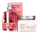 L' Occitane Cerisier des Oiseaux Eau de Toilette & Petal-soft Body Crme Set