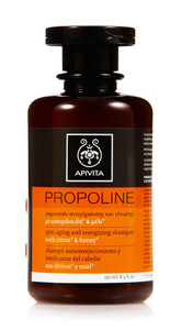 Propoline Anti-aging and Energizing Shampoo with Citrus & Honey 250ml/8.5ml