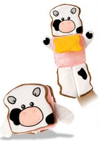 """Ham + Cheese Sandwich Hand Puppet - 12"" high"""