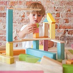 Wooden Magnetic Blocks