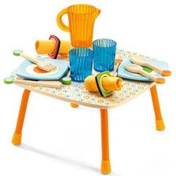 Wooden Tea Sets & Picnic Toys
