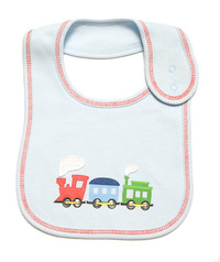 emotion and kids puffing billy cotton baby bib