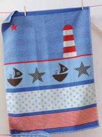david fussenegger organic lighthouse blanket - lena bassinet