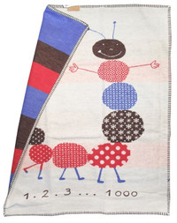 david fussenegger lena caterpillar organic blanket