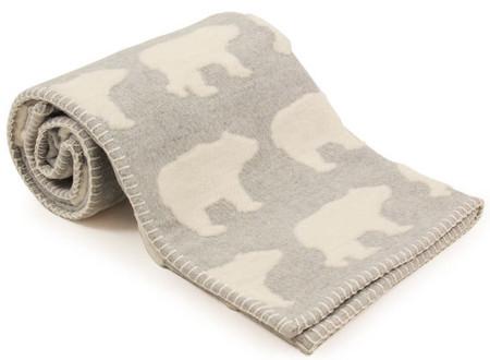 david fussenegger grey polar bear blanket on sale fast shipping australia wide. Black Bedroom Furniture Sets. Home Design Ideas
