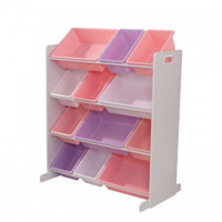 kidkraft sort and store it bin pastel
