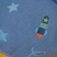 david fussenegger rocket cot blanket