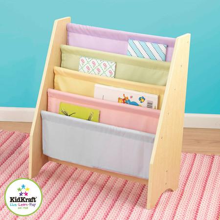 KidKraft Sling Bookshelf - Pastel - KidKraft Sling Kids Bookshelf Pastel On Sale!