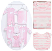 emotion and kids stripe and bows clothing collection