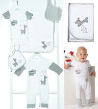 emotion and kids grey safari clothing collection
