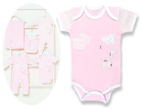 pink safari baby clothing