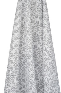 geometrical muslin wrap design