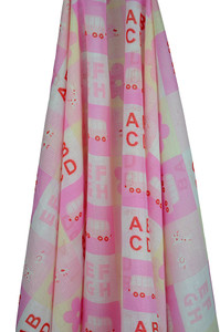 emotion and kids pink stencil abc wrap