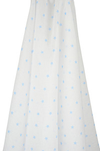 emotion and kids blue star muslin