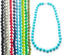 winnibeads silicone sensory necklace adult size - jane