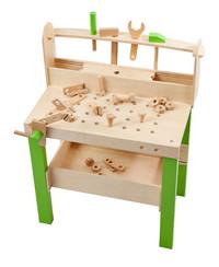 Plum Lumberjack Workbench Wooden Construction Table