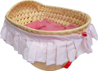 qtoys rock a baby doll cradle