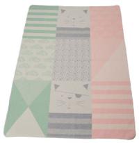 David Fussenegger Juwel Cot Blanket - Little Girl Cat