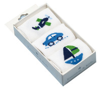 little transport baby sock set