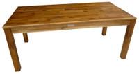 qtoys acacia rectangular wooden kids table
