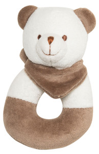 emotion and kids bobby bear baby rattle