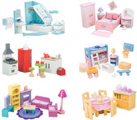 le toy van sugar plum doll furniture sets