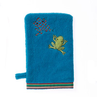 Breganwood Organics Wash Mitt - Rainforest Collection - Silly Frog