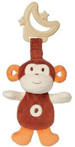 My Natural Sensory Eco Teether - Monkey - Brown