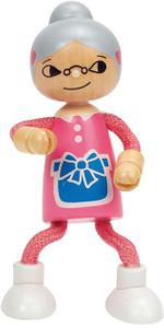 Hape Wooden Doll Grandmother