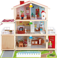 Hape Doll Family Mansion dollhouse