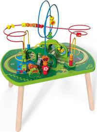 Hape Jungle Play & Train Activity Table Toddler Train Toys