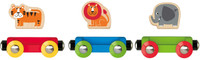 Hape Lucky Ladybug and Friends Train Wooden Baby & Toddler Toys
