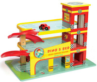 Le Toy Van Dino's Garage set