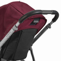 UPPAbaby VISTA Leather Handle Bar Covers - Black
