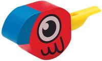 Hape Bird Whistle-red