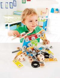 Hape Master Builder Set-Kid Playing