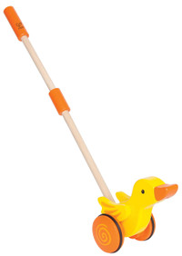 Hape Duck Push and Pull Walking Toy