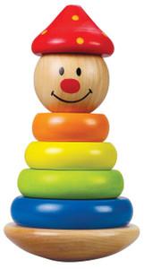 Hape Stack and Swivel Clown