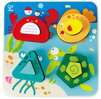 Hape Underwater Animals Toddler Puzzle