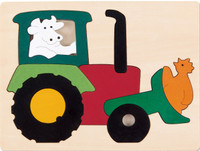 George Luck Tractor Puzzle