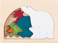 George Luck Polar Layered Puzzle