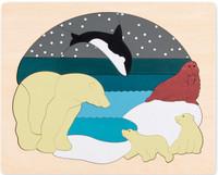 George Luck Arctic Animals Puzzle