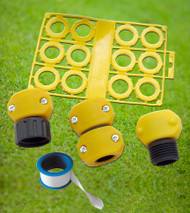 Garden House Eco-Kit Hose Repair and Conservation Hose Washers   Replacement Hose Parts  